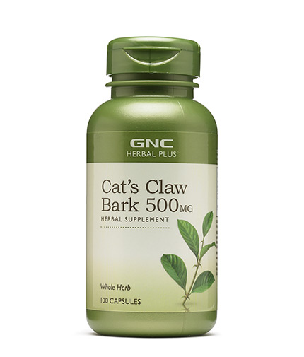 GNC Herbal Plus Cat's Claw 500 mg. / 100 Caps.