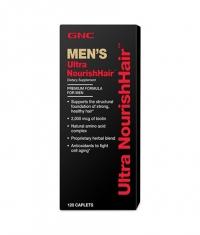 GNC Men's Ultra NourishHair 120 Tabs.