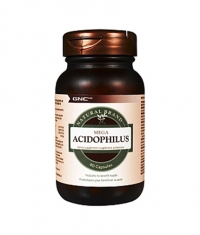 GNC Natural Brand Mega Acidophilus 90 Caps.