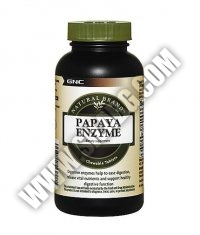 GNC Natural Brand Papaya Enzyme 90 Tabs.