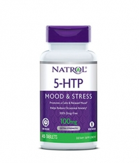 NATROL 5-HTP Time Release 100 mg. / 45 Tabs.
