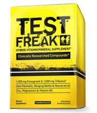 PHARMA FREAK Test Freak / 120 Caps.