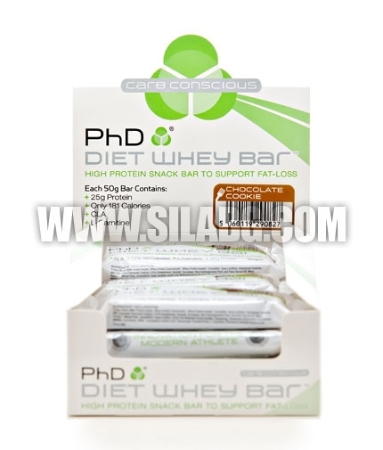PhD Diet Whey Bar /Box/ 12бр,